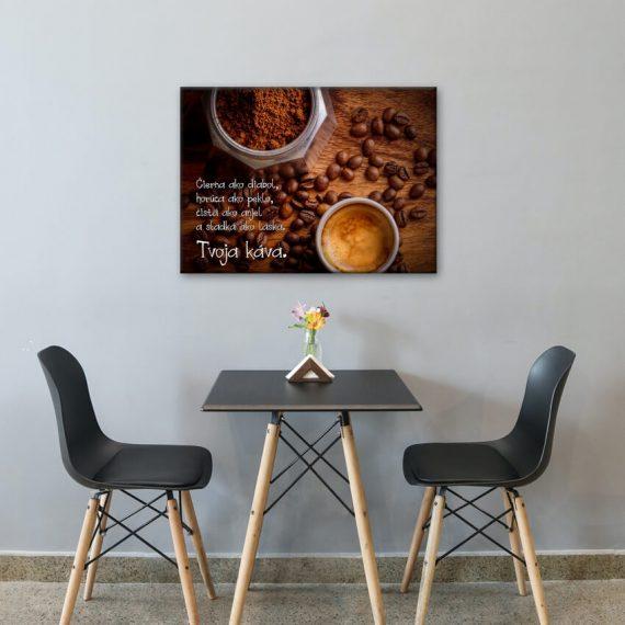 Káva - obraz na stenu