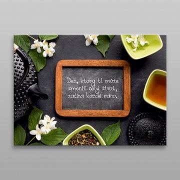 Motivačný obraz do kuchyne Deň